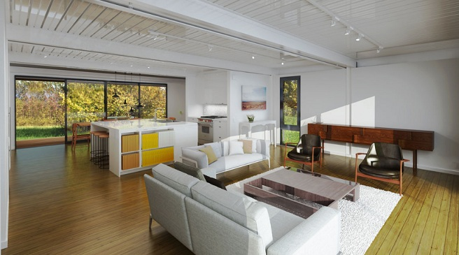 Casas prefabricadas ya no son lo que eran nova te asesora for Interiores de casas prefabricadas