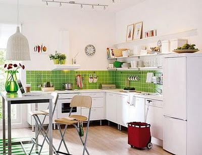 Decoracion de cocinas muy pequeñas