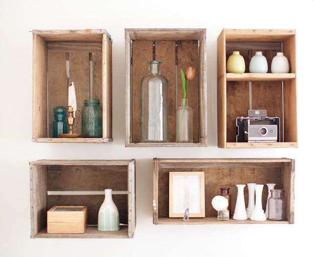 Decorar mi casa con poco dinero estamos en crisis nova for Decorating with milk crates