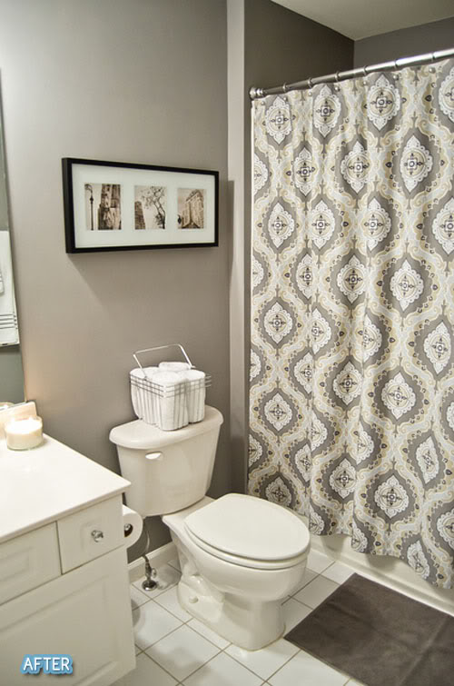 Decorar Un Baño Con Poco Dinero:Behr Bathroom Paint Color Ideas