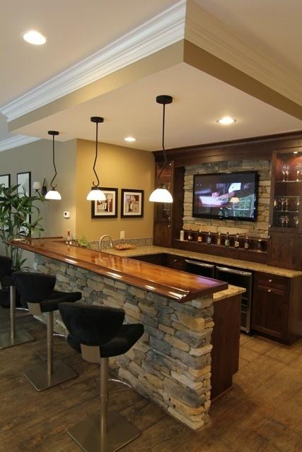 Ideas para crear un bar en casa nova te asesora - Barras de bar para casas ...