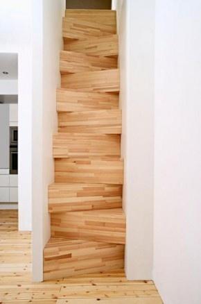 Escaleras adaptadas a espacios peque os como estudios o for Escaleras para lugares pequenos