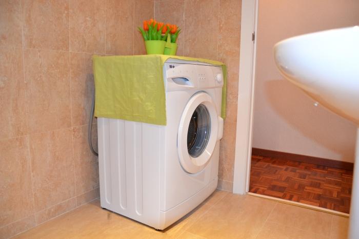 bano y lavadora