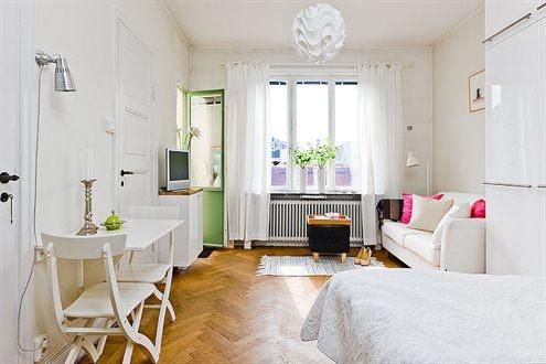 Decoraci n perfecta y muy barata para apartamentos y for Como amueblar un loft de 35 metros