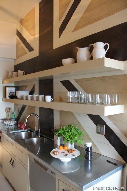 Algunos trucos de decoraci n que s lo nova decora te los - Cocinas sin muebles arriba ...