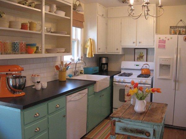Qu debo saber antes de pintar los muebles de mi cocina for Pintar muebles laminados