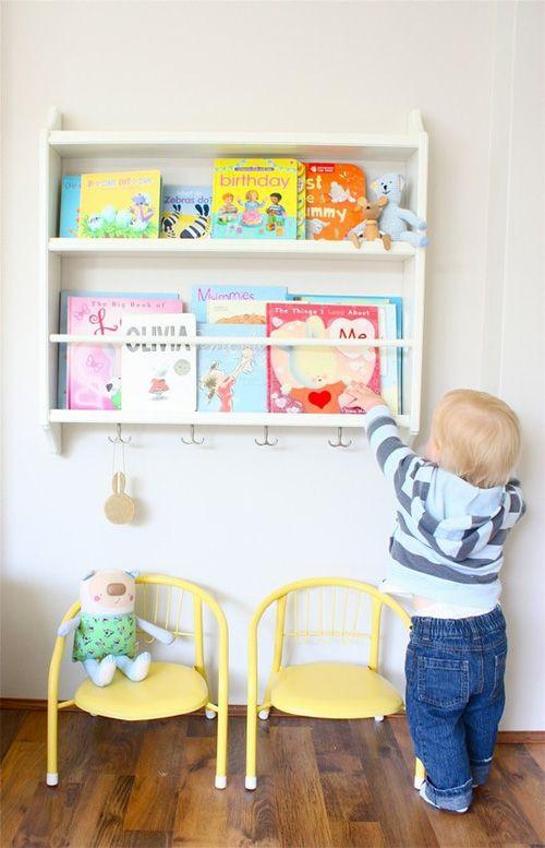 Necesito Un Baño Ahora:Book Rack IKEA Hack