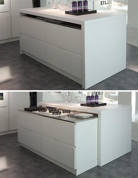 Nuevas ideas para amueblar una cocina muy peque a nova - Amueblar cocinas pequenas ...