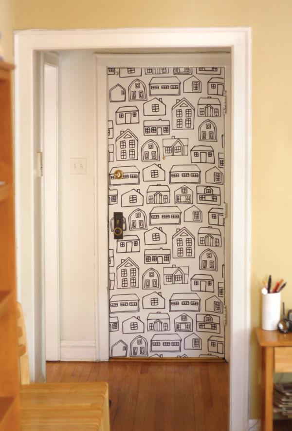 deur-behangen