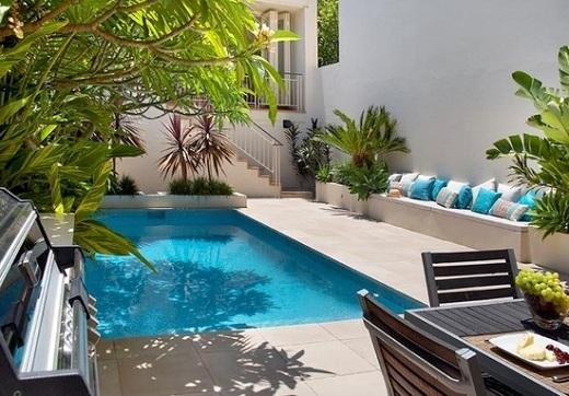 jardines con piscina5 - Decoracion De Piscinas
