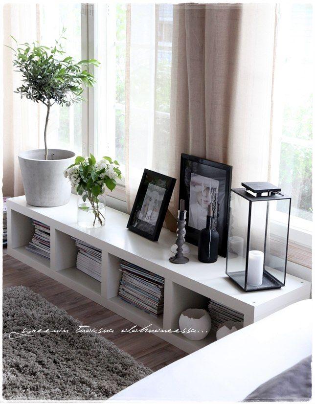 Ideas s per tiles con muebles de ikea nova te asesora - Ikea small spaces ideas minimalist ...