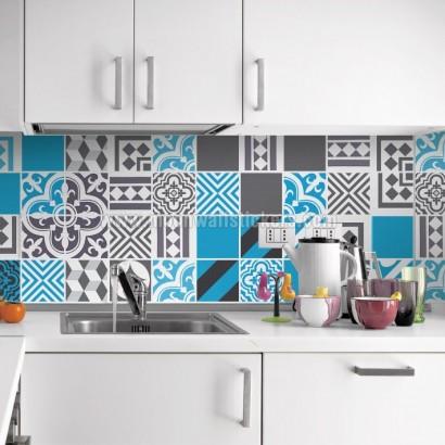 Cenefa cocina adhesiva - Azulejos adhesivos leroy merlin ...