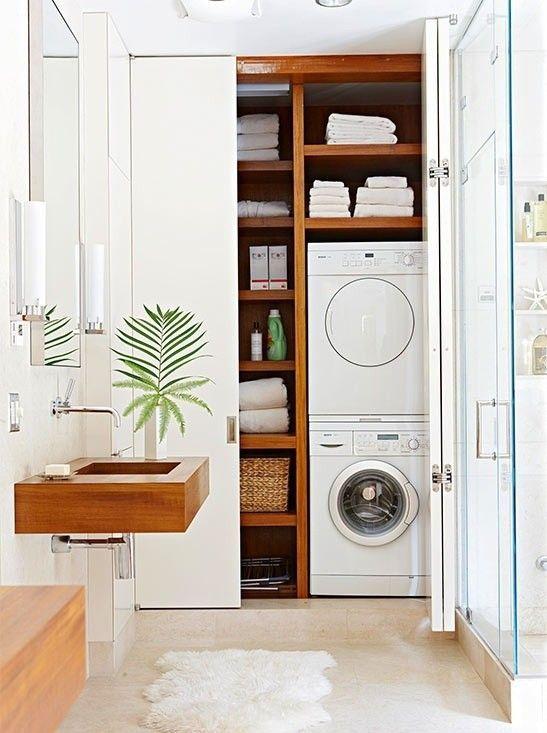 ideas de c mo integrar la lavadora en un ba o nova te