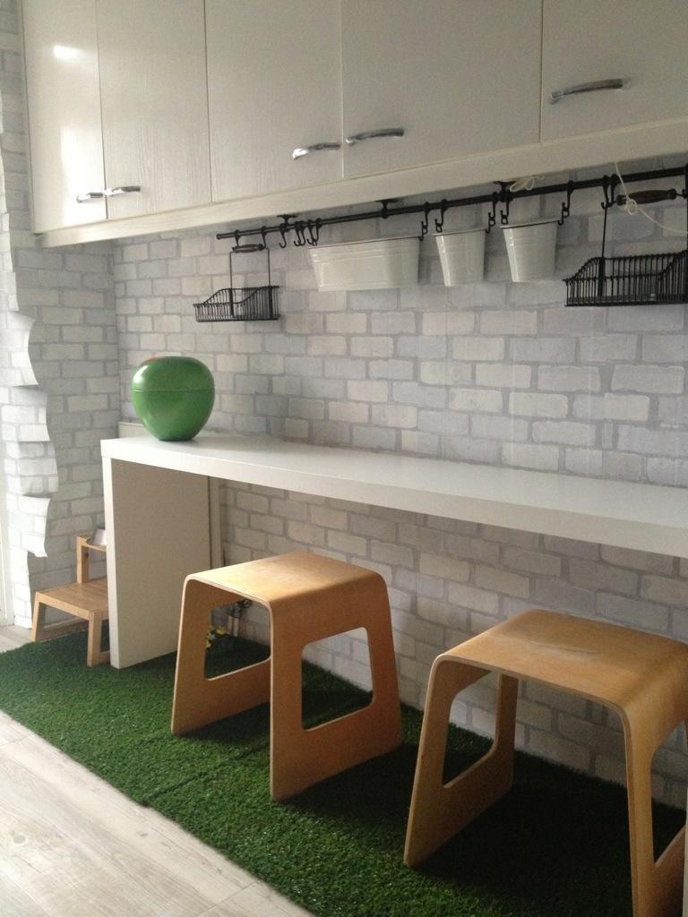 Renueva tu cocina con papel pintado nova te asesora for Pintura azulejos cocina leroy merlin