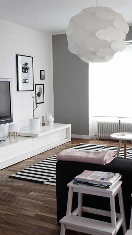 ideas de decoración de la sala de estar boho IDEAS EN GRISES PARA DECORAR TU SALA DE ESTAR NOVA TE ASESORA