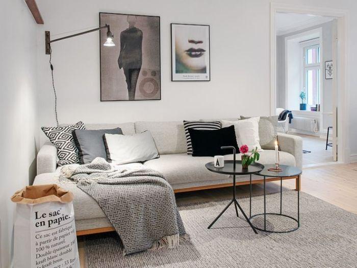 lampara sofa